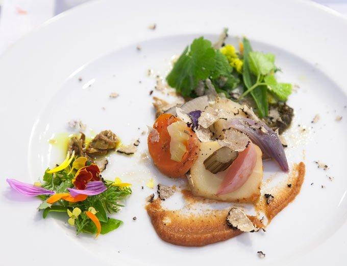 Ein Gericht aus der Kräuterküche