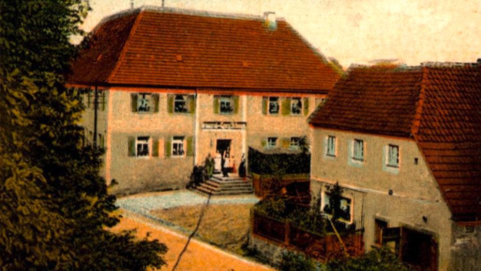 Altes Bild des Hotels