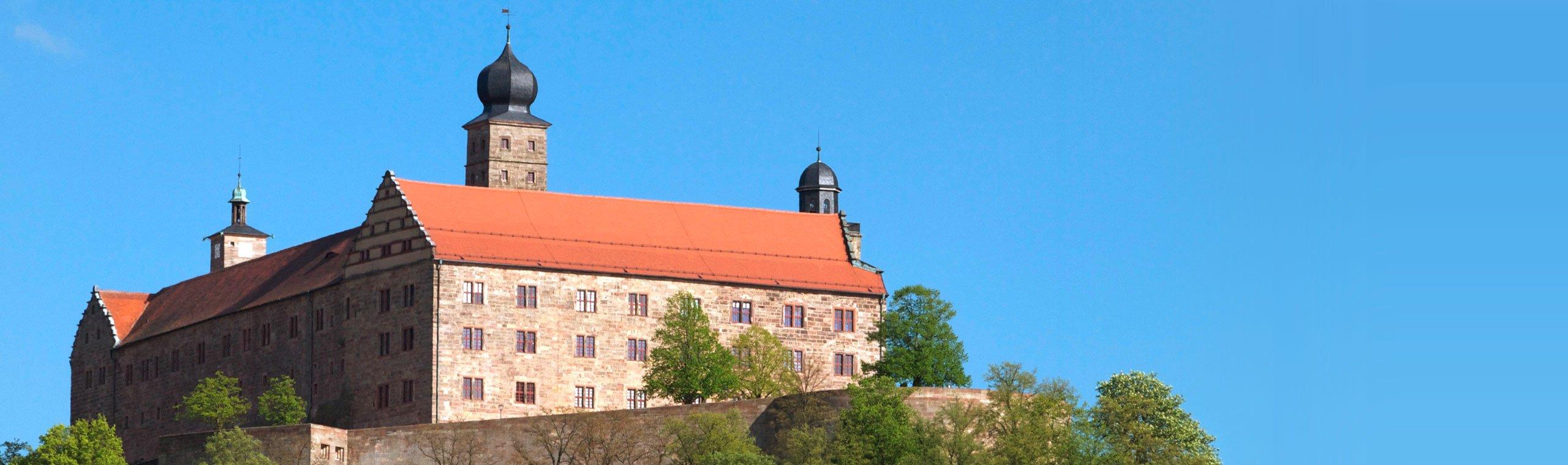 Die Plassenburg in Kulmbach